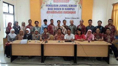 AMIKOM ASM Mataram Adakan Workshop Pengelolaan Jurnal Bekerjasama dengan APMI