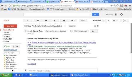 Sistem Administrasi Pengelolaan Arsip Surat Masuk Dan Surat Keluar Berbasis Web