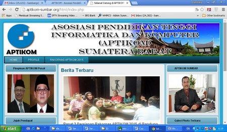 Rakornas APTIKOM Padang 2015 Ajang Bertemu Profesi Ilmu Kompuer
