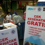 PKPU gelarcek kesahatan gratis di cerfreeday bersama Karysma FM dan AKBID Estu Utomo
