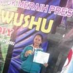 Diana Putri SMK Negeri 1 Boyolali Juarai Wushu Tingkat Nasional
