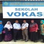 Delegasi Universitas Sahid Surakarta Berkunjung ke Sekolah Vokasi UMS